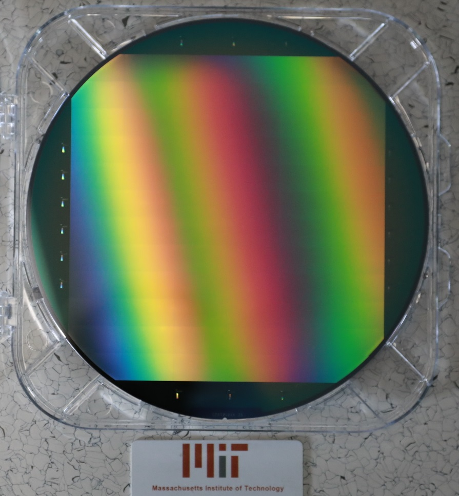200 mm wafer with CAT+L1 oxide mask