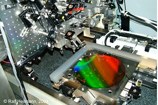 Scanning Beam Interference Lithography: The Nanoruler